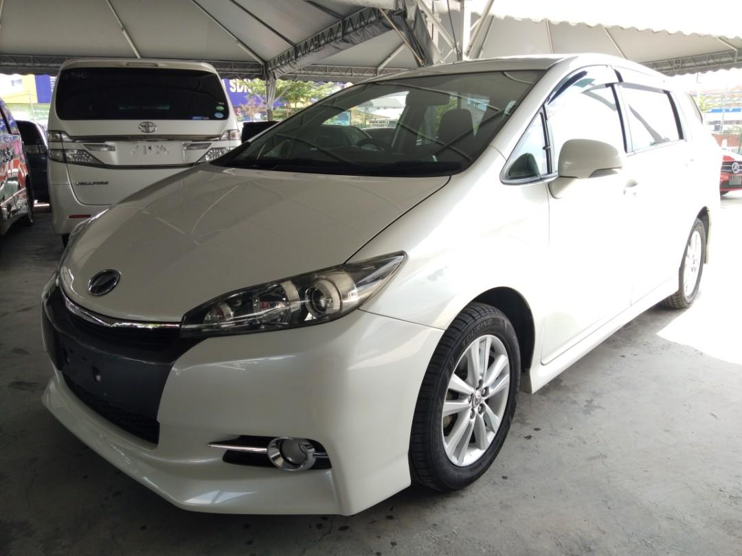 TOYOTA WISH 1.8 S SPEC YEAR~2015✔RECON全包价格RM105,888.88 (((ON THE RPAD)))(include)😊👍 SELLINGP RICE RM105,888.88~✔