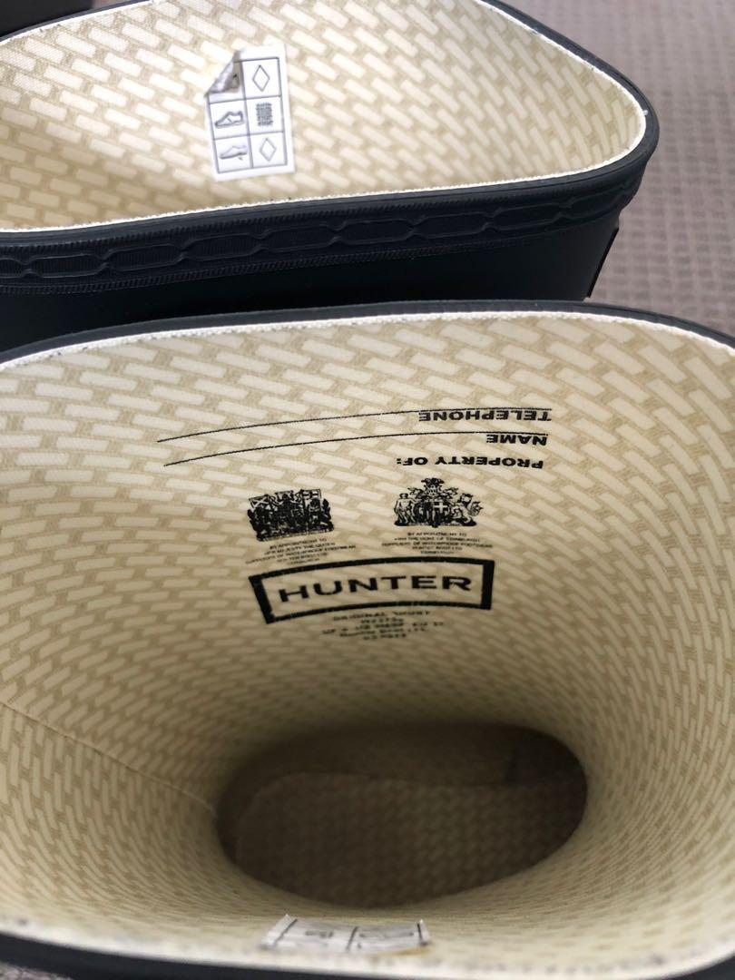 Unisex Hunter Boots - Original Short - Black Size 37