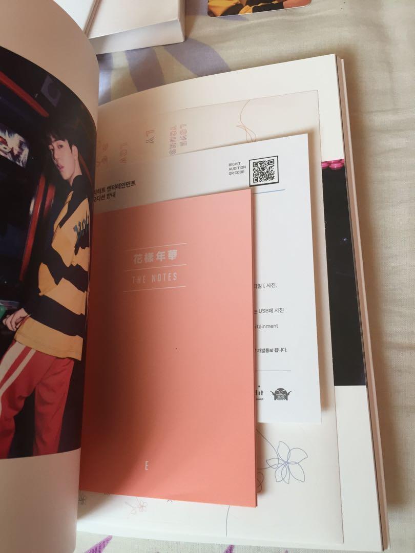 WTS BTS Love Yourself Her Album Version E (Jin's pc)