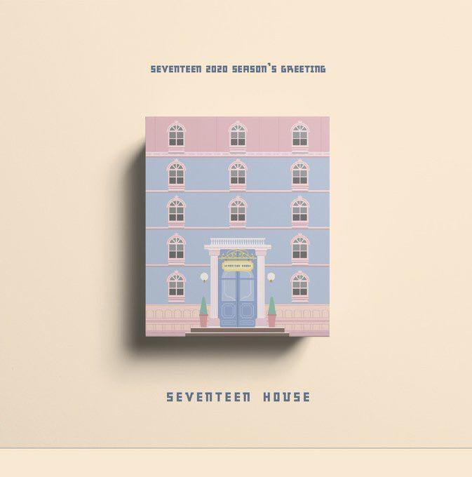 [WTS]SEVENTEEN 2020 SEASON'S GREETING - SEVENTEEN HOUSE (LOOSE ITEMS)