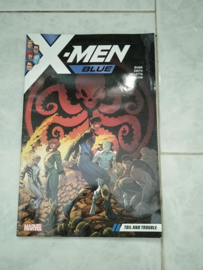 Marvel Comic - X-men [blue]