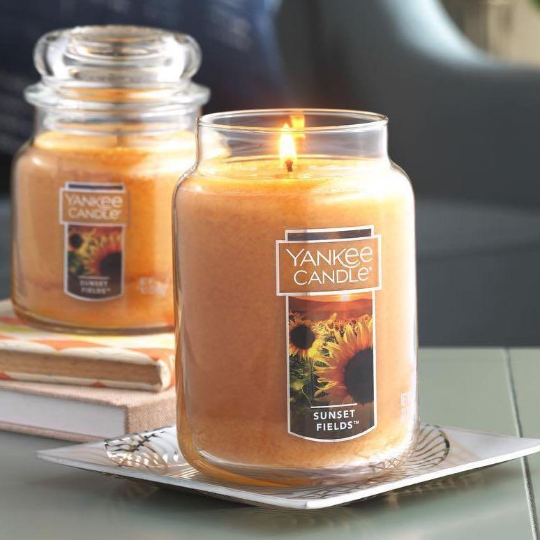 Yankee Candle Sunset Fields