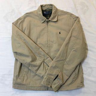 Polo by Ralph Lauren 卡其色內格紋古著品牌工作外套vintage