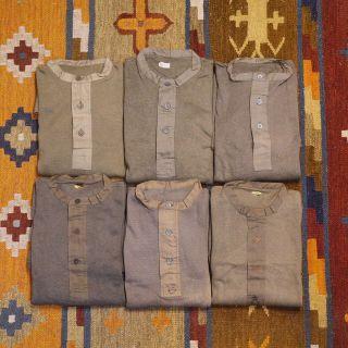 🇸🇪40s 二戰瑞典亨利領內衣 復古針織上衣 WWII DEADSTOCK 男女皆可Vintage 歐美帶回 古著古董老品