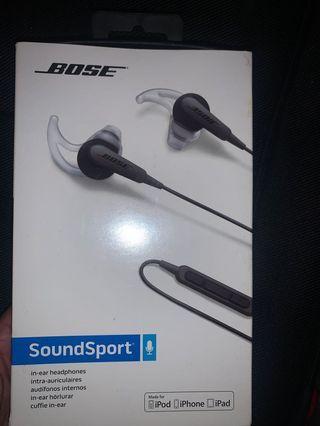 BOSE soundsport earphones
