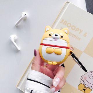 AirPods 保護套 柴犬 全新 耳機 藍芽耳機 蘋果 apple 無線耳機 #出清2019