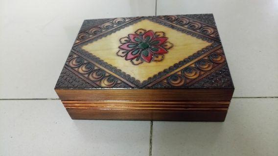 聖誕甜價,19*14*6cm 首飾盒/accessories box,只要NT$40!