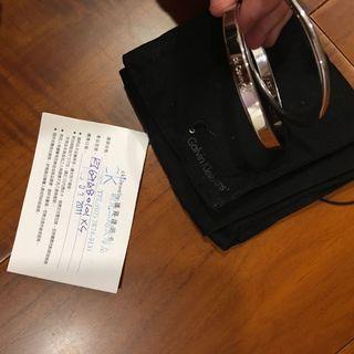 CK 銀飾手環 Calvin Klein bracelet