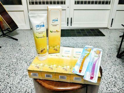 全球熱銷天然水解蜂膠牙膏組!買五送一!