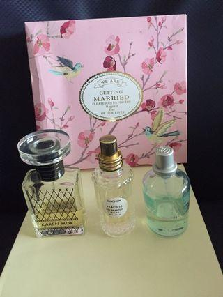 香水(3瓶)