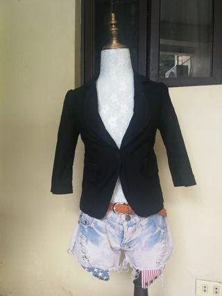 Viz a Viz black coat