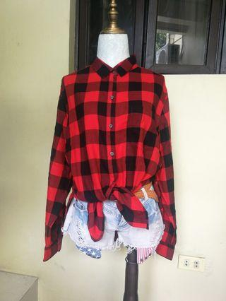 Old Navy Checkered longsleeves