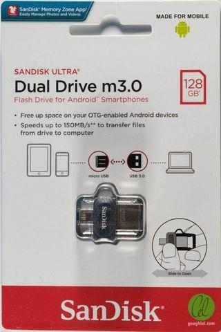 Sandisk Ultra Dual Drive m3. 0   128Gb  selling at  $34.50