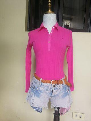Abercrombie cotton stretched top