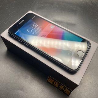 iPhone 8 256g 太空灰 電池86% 附充電組 前後鋼化玻璃邊框也貼膜 #0991
