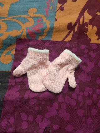 新生兒+小朋友手套