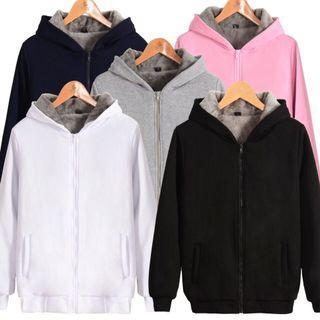 定制加厚拉鍊衛衣 廠家直銷男士衛衣冬裝加絨加厚加絨外套高磅數