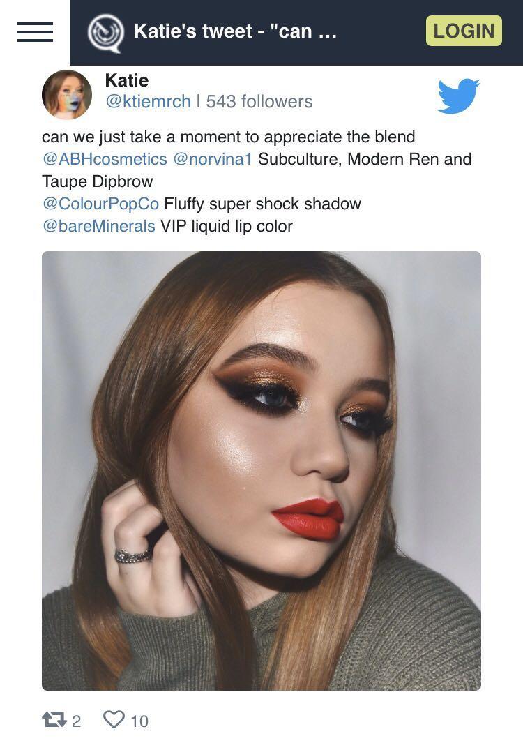 ♥️ bareMinerals Statement Matte Liquid Lipstick - VIP