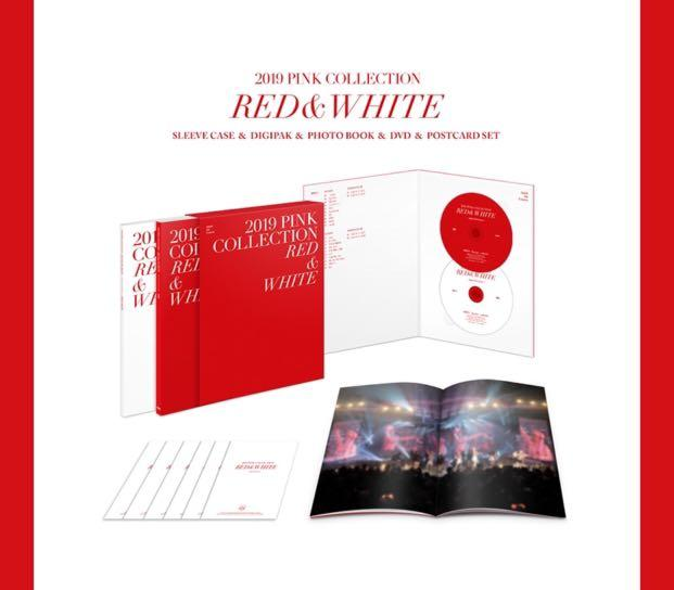 [🇲🇾 GROUP ORDER] APINK 5th CONCERT DVD ( 2019 PINK COLLECTION RED & WHITE )