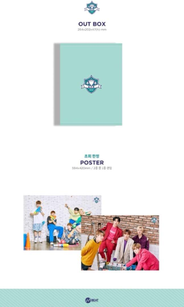 A.C.E 2020 Season Greeting  ✔️Second payment needed pls read in the details