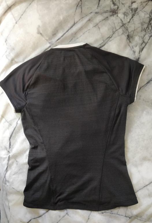 ADIDAS Running Top Supernova Climacool Black White Short Sleeve Shirt Reflective