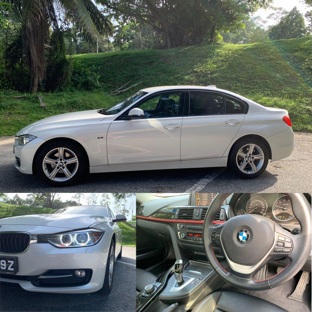 BMW 316 F30 for lease