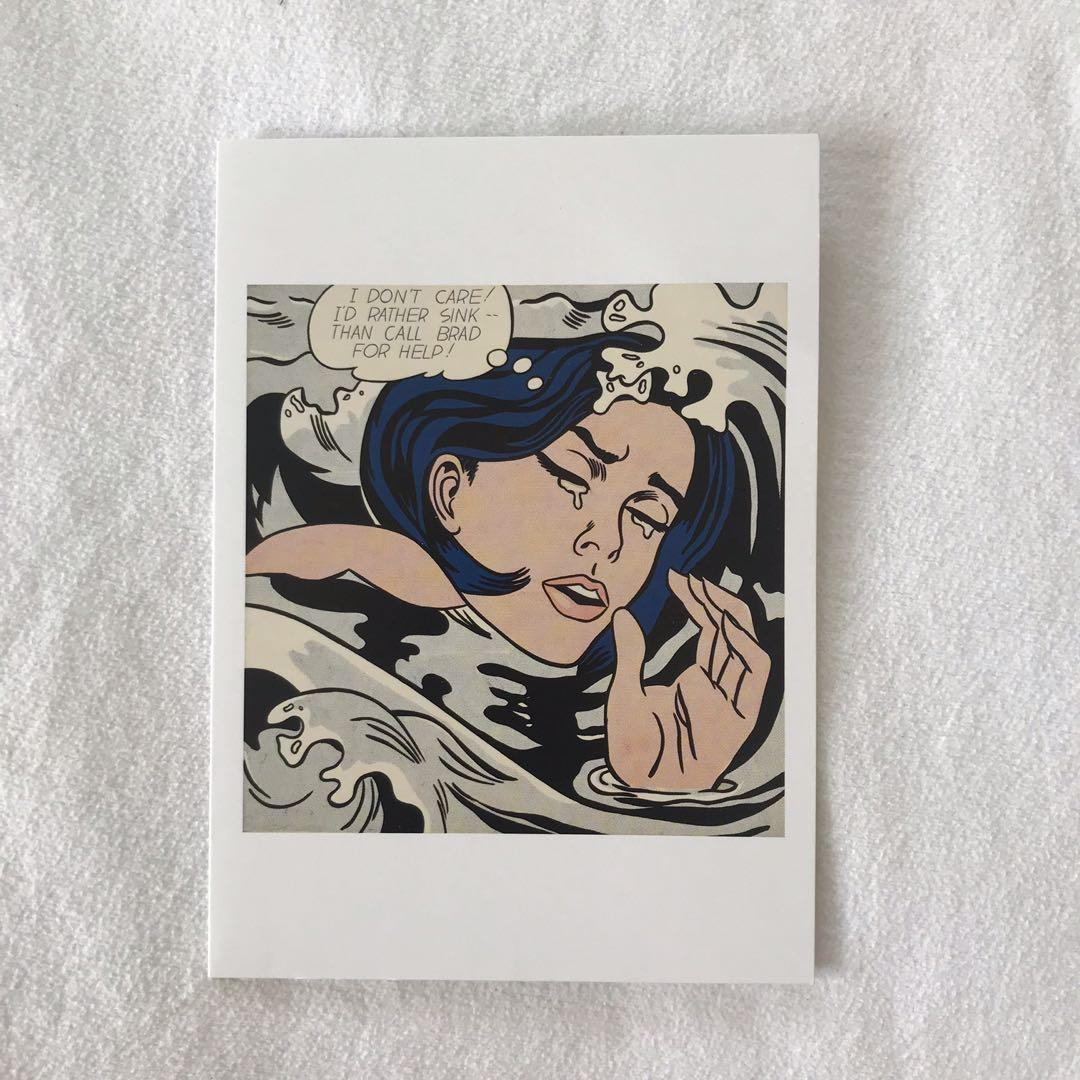 Box of 9 Roy Lichtenstein Postcards (The Museum of Modern Art)