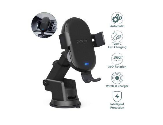 Brand new Wireless Car Charger Mount 10W Fast Charging