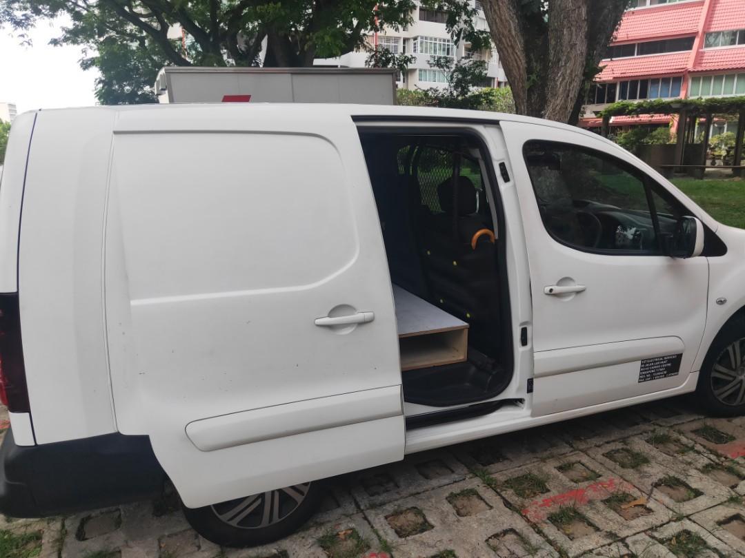 Citroen berlingo for rent. Automatic transmission. Diesel