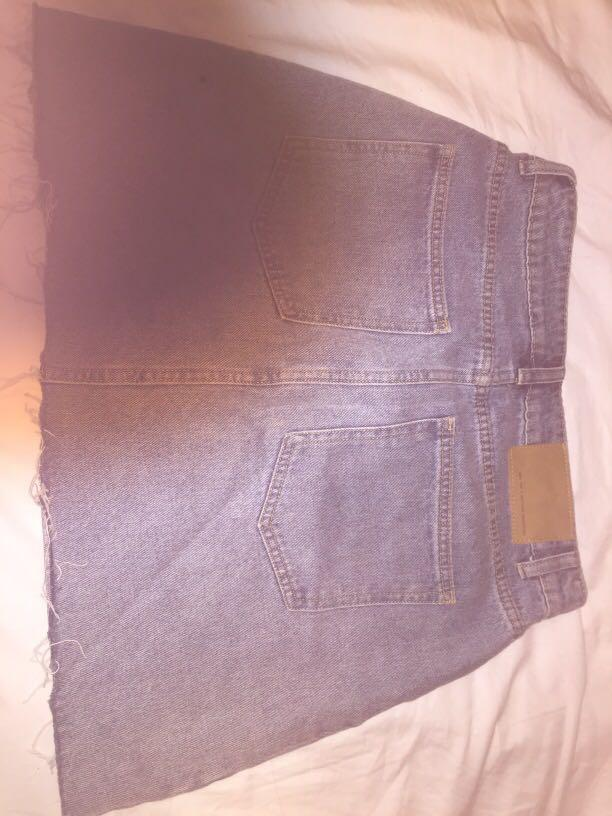 Denim Skirt. Factorie. Never worn but no tags. size women's 12