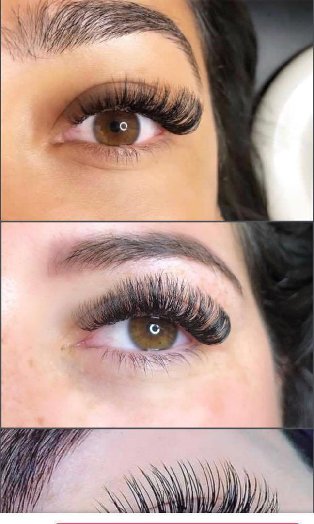 Eye lashes extension
