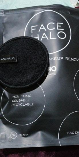 Face Halo The Modern Makeup Remover $10 EACH QNTY x 1 [BLACK] [NO SWAPS, PRICE IS FIRM]