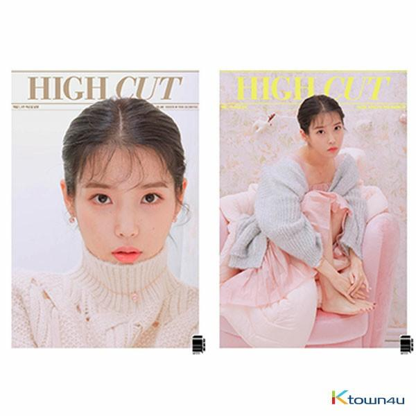 [FREE POSTAGE] [Magazine] High Cut - Vol.253 (IU) *Cover Random 1p out of 2p