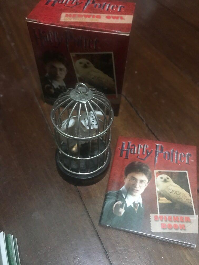 Harry Potter Golden Snitch Horcrux Locket Hedwig Owl