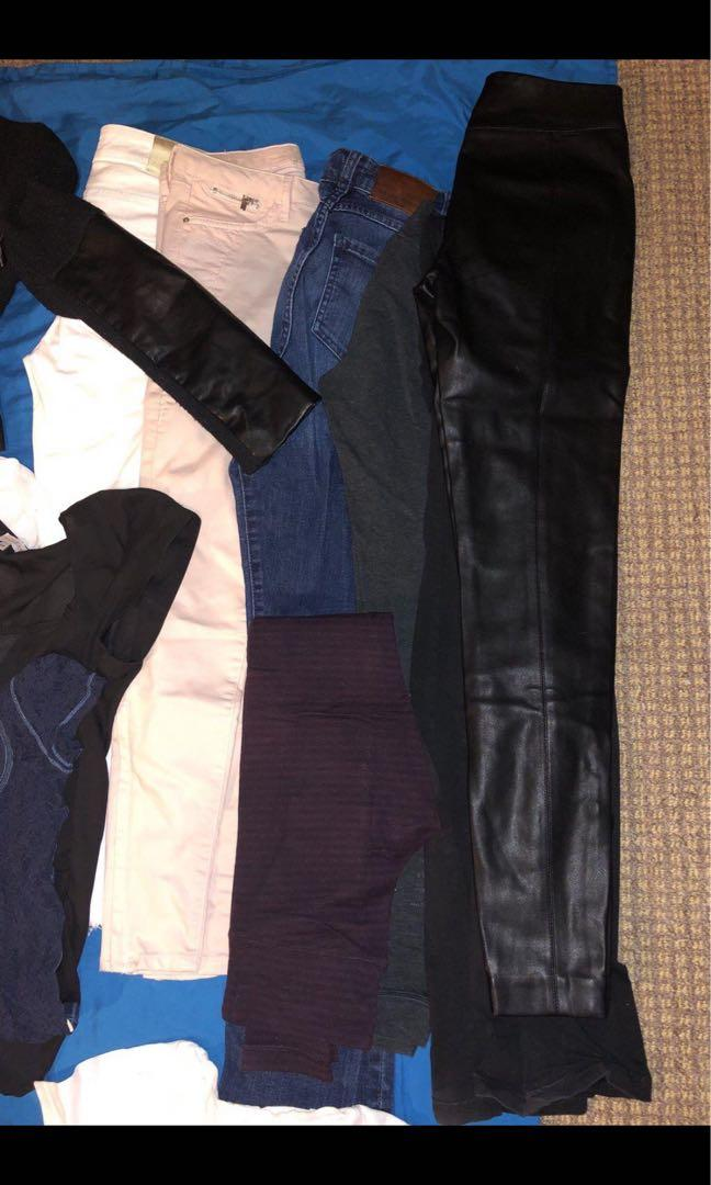 Entire brand name wardrobe of Like New size 0 clothing