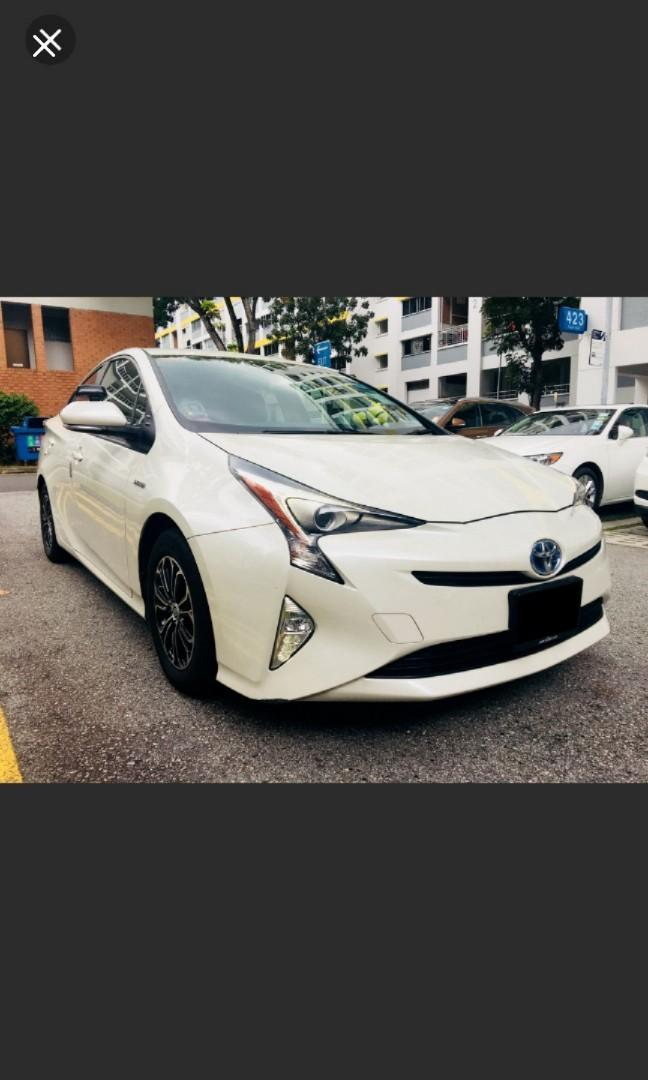 TOYOTA  PRIUS  HYBRID  Looking for relief driver grab / gojek East area .