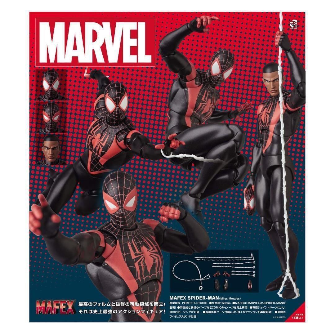 MAFEX Miles Morales Spider man 蜘蛛俠 Marvel