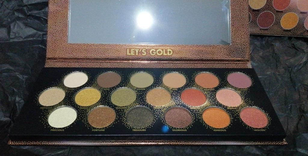 Make Up For Ever Let's Gold Eye Palette 32g NEW & AUTHENTIC [PRICE IS FIRM/FINAL] NO SWAPS
