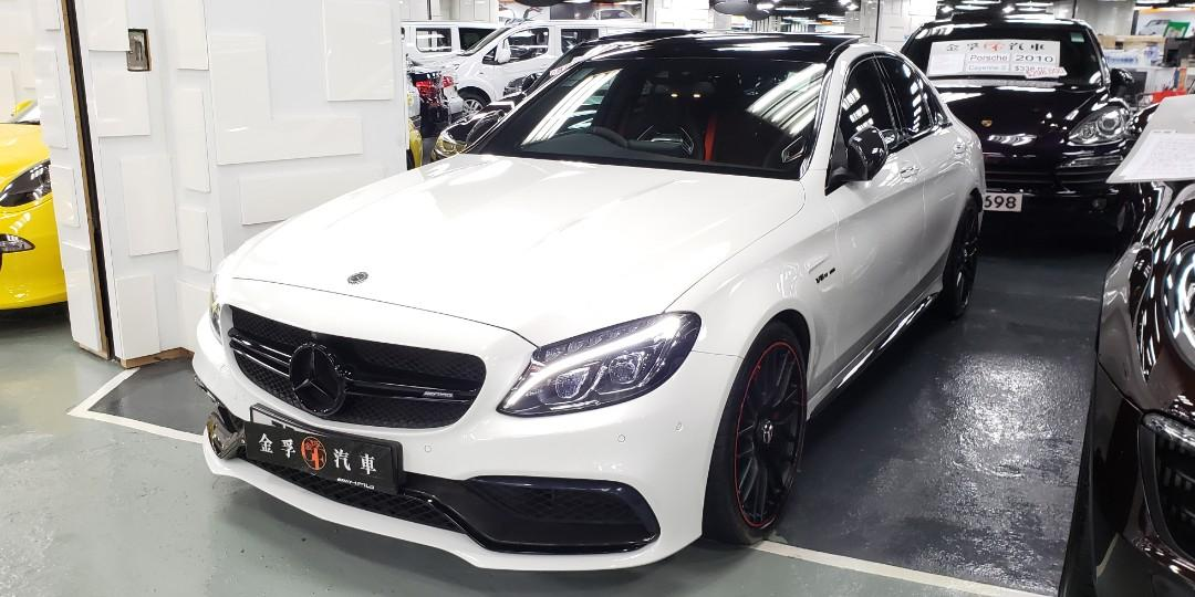 2016 MERCEDES-BENZ C63 S Edition 1