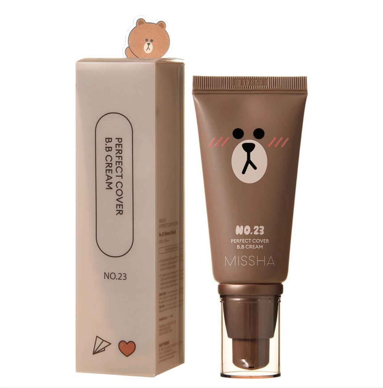 [MISSHA] M Perfect Cover BB Cream (Line Friends Edition) Shade 23