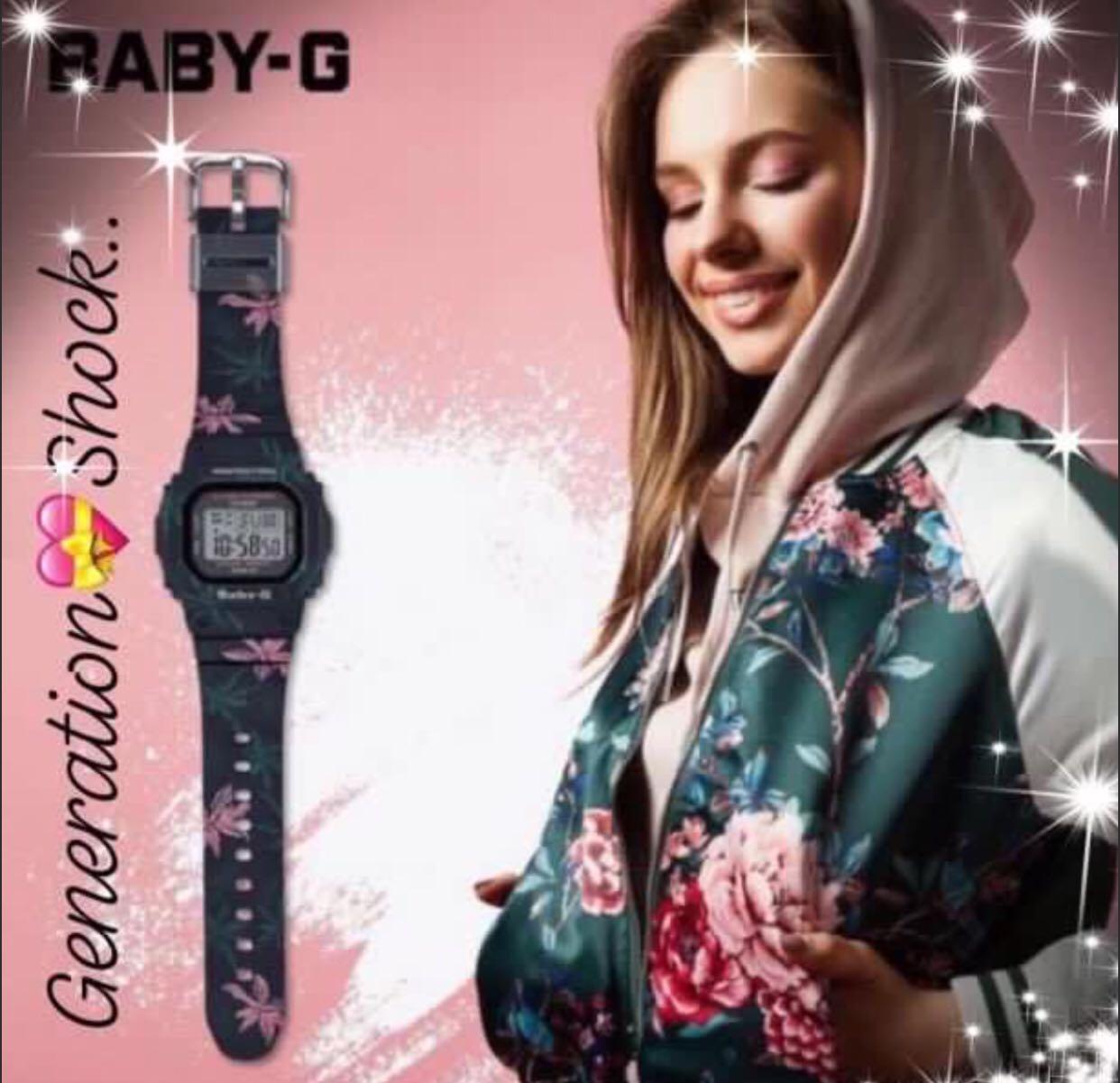 NEW🌟COUPLE💝SET : CASIO BABYG UNISEX SPORTS WATCH : 100% ORIGINAL AUTHENTIC : By BABY-G-SHOCK ( GSHOCK ) COMPANY : W-217HM-5AV+ BGD-560CF-1