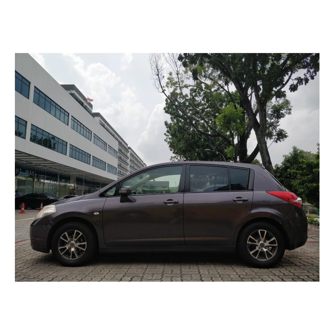 Nissan Latio Hatchback - @9736107 Many ranges of car to choose from, with very reliable rates!