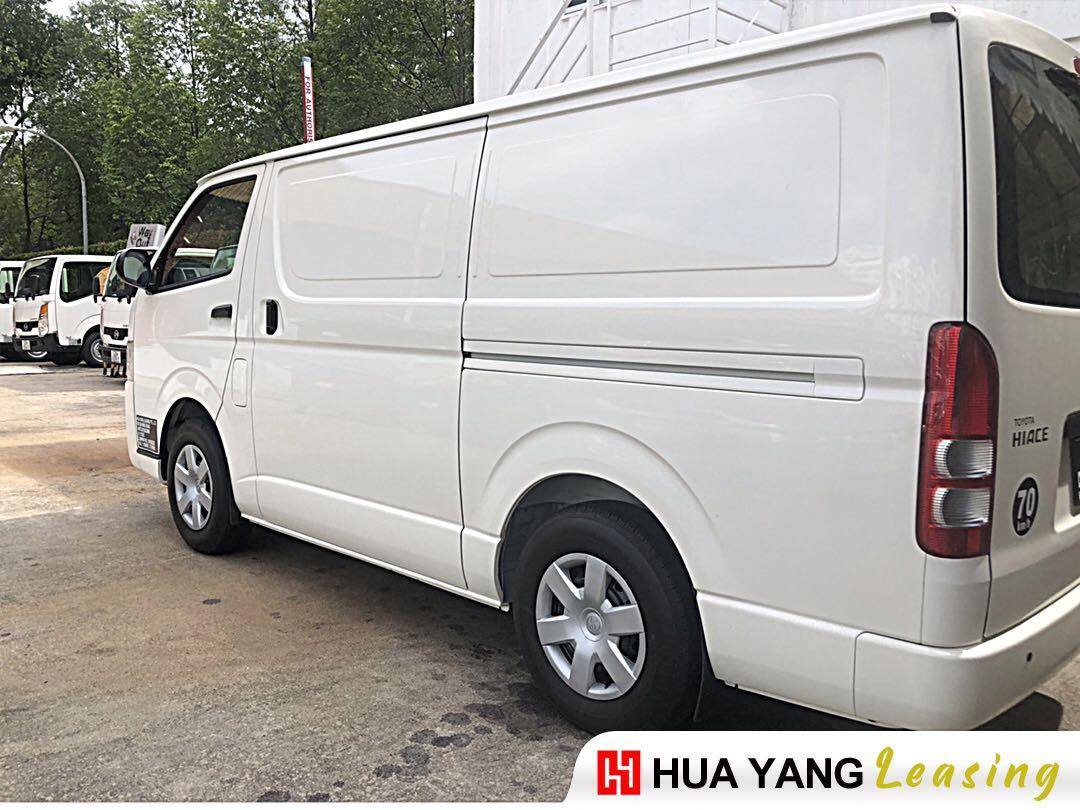 No GST Brand new Toyota Hiace (Manual)