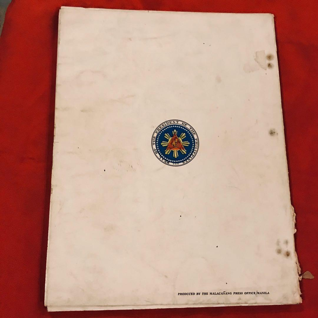Official Program of the 68th anniversary of Philippine Independence June 12, 1966
