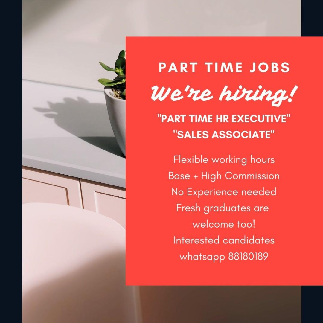 Part Time HR Executive Up to $12/hr + High Commission