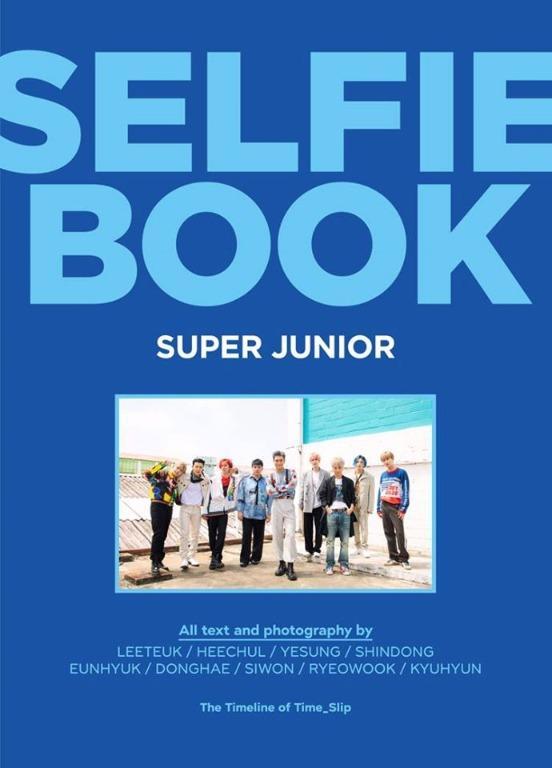 [Photobook] Super Junior - Selfie Book : Super Junior [PER-ORDER]