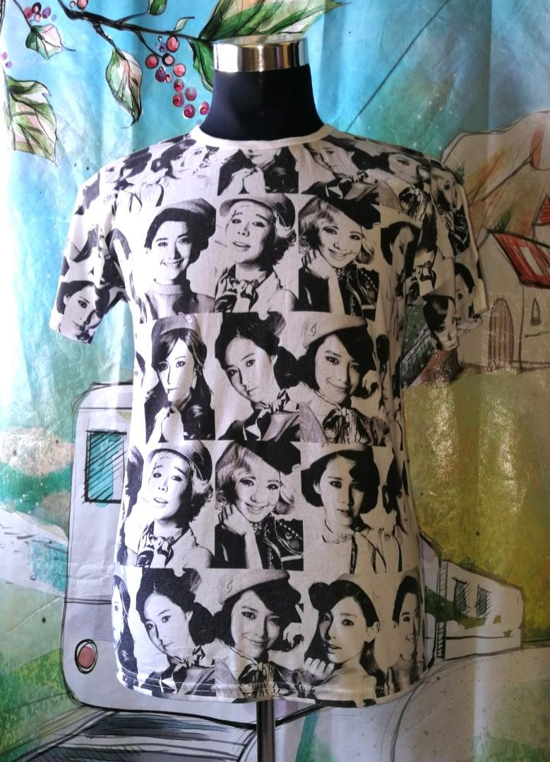 ⚡RARE⚡Girls Generation Japan 2nd Tour tshirt full print.