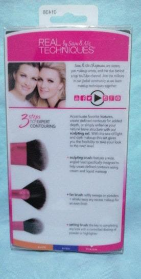 Real Techniques Sculpting Brush SET NEW IN PACKET & AUTHENTIC. FREE POSTAGE