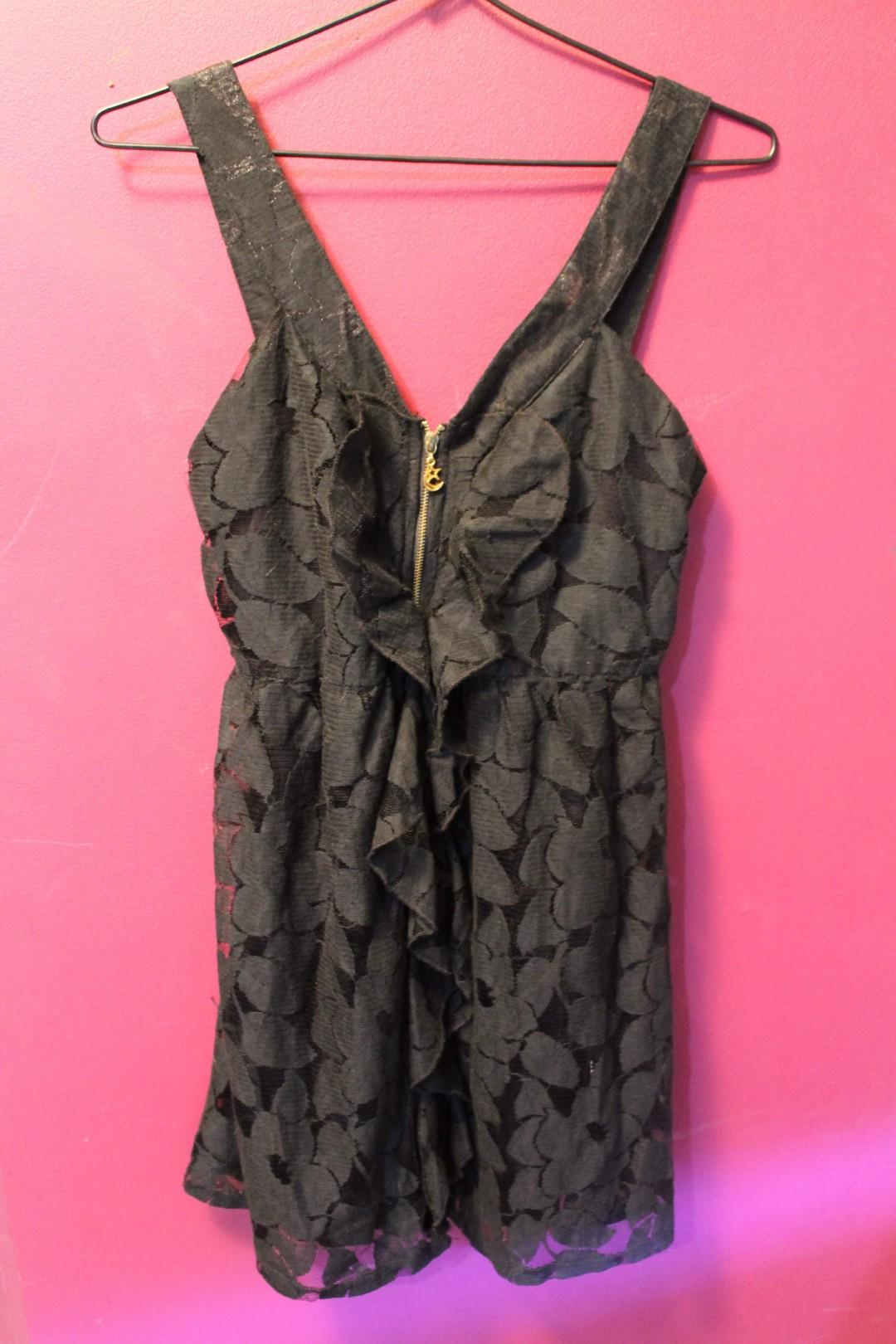 Sexy LBD w Front Zipper /Brand New w Tags / Bought at $59.95!