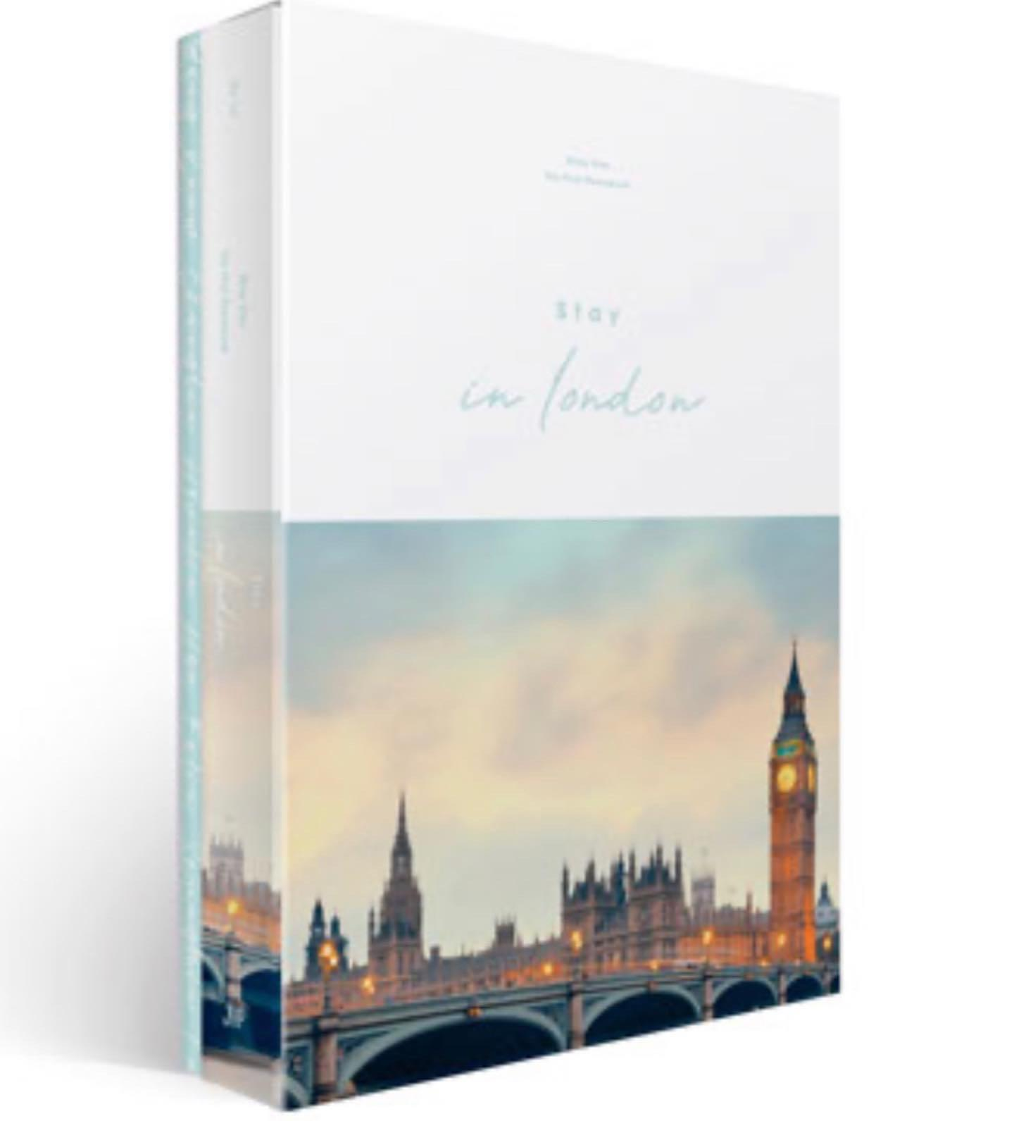 STRAY KIDS [STAY IN LONDON] PHOTO BOOK + FREE AUSTRALIA WIDE TRACKED SHIPPING
